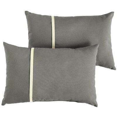 Chau Indoor/Outdoor Lumbar Pillow Size: 12 x 24