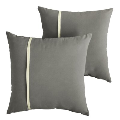 Chau Indoor/Outdoor Throw Pillow Size: 22 x 22