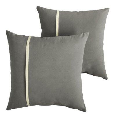 Chau Indoor/Outdoor Throw Pillow Size: 18 x 18