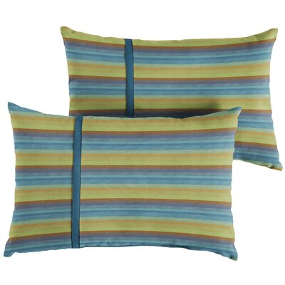 Vanhoose Indoor/Outdoor Lumbar Pillow Size: 6 x 26