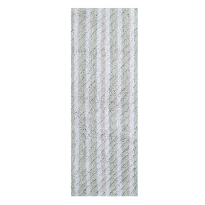 Casella Ring-Spun Bath Rug Color: Sage