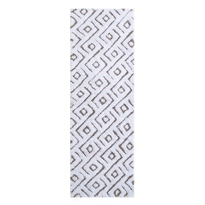 Braylon Modern Bath Rug Color: Taupe