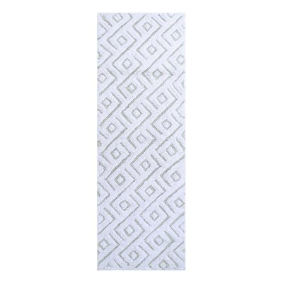 Braylon Modern Bath Rug Color: Sage