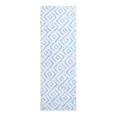 Braylon Modern Bath Rug Color: Blue