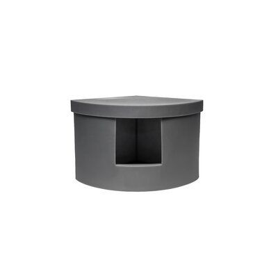 Corner Kitty Modern Litter Box Enclosure Color: Gray