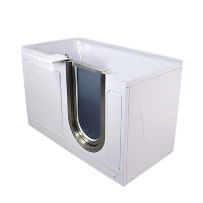 38 x 30 Freestanding Bathtub Type: Acrylic Hydro/AIr Massage/Foot Massage/Heated Seat