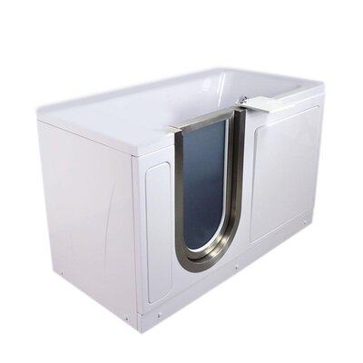 38 x 30 Freestanding Bathtub Type: Acrylic Hydro/Air Massage/Foot Massage