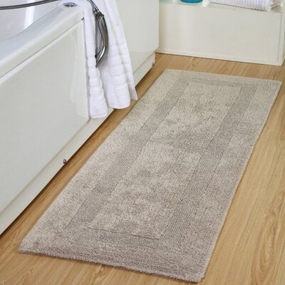 Tremper Reversible Bath Rug Color: Taupe