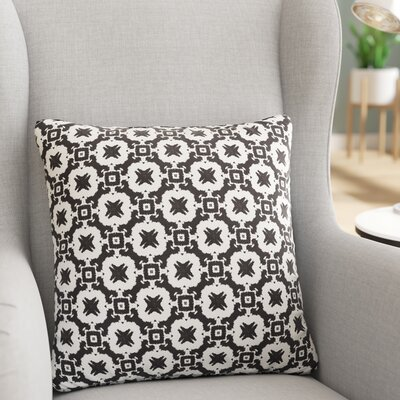 Mcgrath Throw Pillow Size: 18 H x 18 W x 6 D
