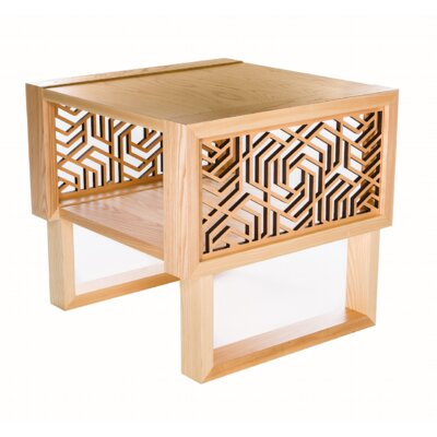 Forest Hills Geometric End Table