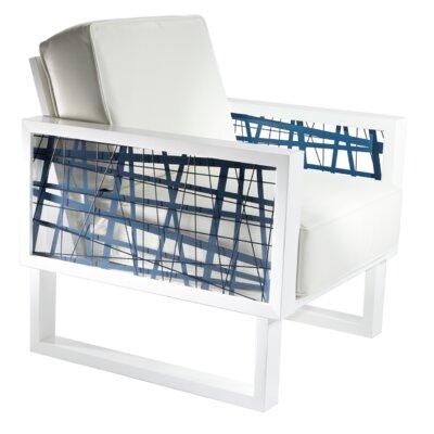 Flaxville Random Line Armchair