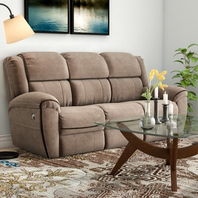 Simmons Genevieve Double Motion Reclining Sofa Type: Manual