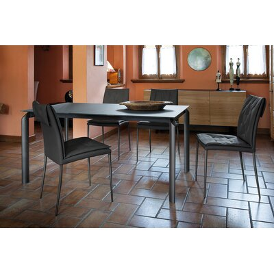 Energy Extendable Dining Table Base Color: Anthracite, Top Color: Anthracite