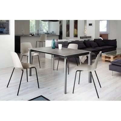 Energy Extendable Dining Table Base Color: Dark, Top Color: Anthracite