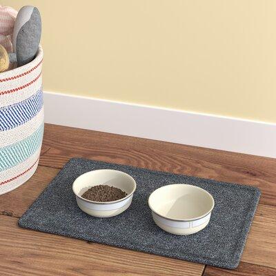 Carrickfergus Doggie Butler Kitchen Mat Size: Rectangle 11 x 17, Color: Charcoal