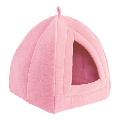 Igloo Cat Bed Color: Pink