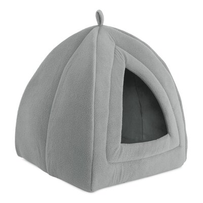 Igloo Cat Bed Color: Gray