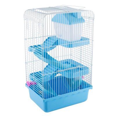 Habitat Hamster/Gerbil Cage Color: Blue