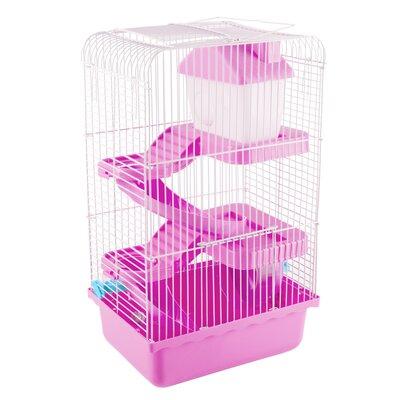 Habitat Hamster/Gerbil Cage Color: Pink
