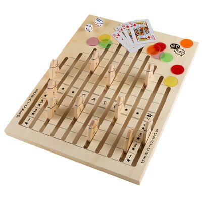 Wooden Horse Race Game M350049