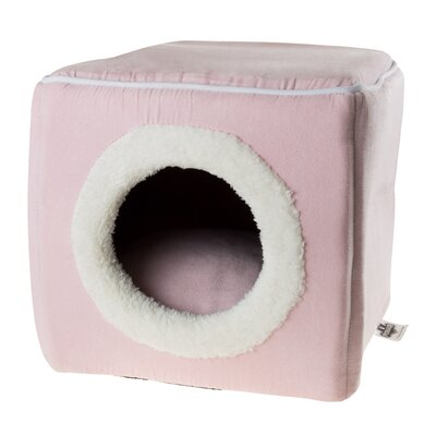 Cave Cat Bed Color: Pink