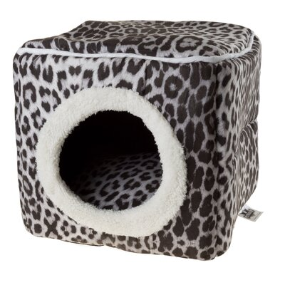 Cave Cat Bed Color: Leopard Print
