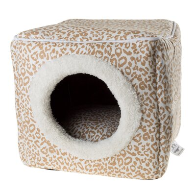 Cave Cat Bed Color: Cheetah Print