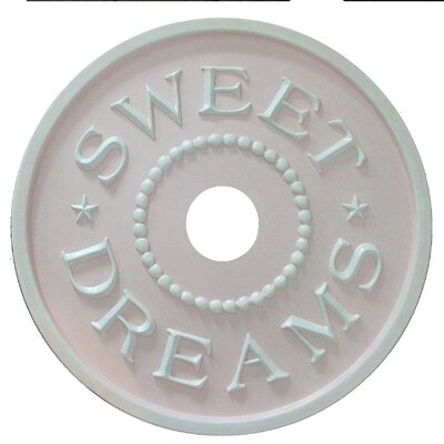 Sweet Dreams Ceiling Medallion Color: Pale Pink