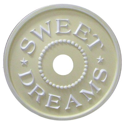Sweet Dreams Ceiling Medallion Color: Yellow