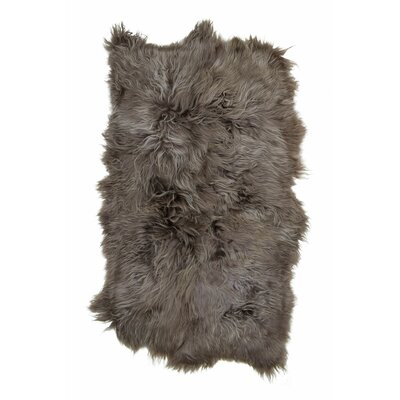 Greer Icelandic Sheepskin Taupe Area Rug