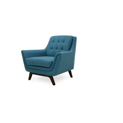 Worthley Lounge Armchair Upholstery: Turquoise