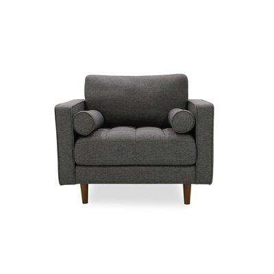 Gafford Lounge Armchair Upholstery: Seaside Gray