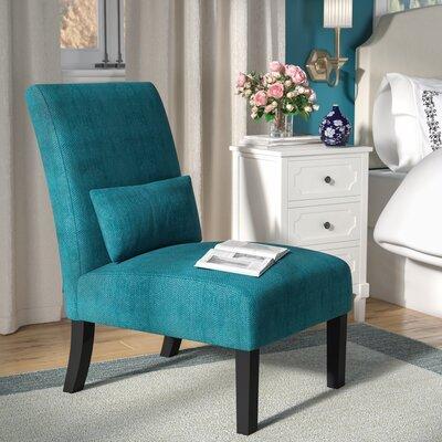 Randi Slipper Chair Upholstery: Teal