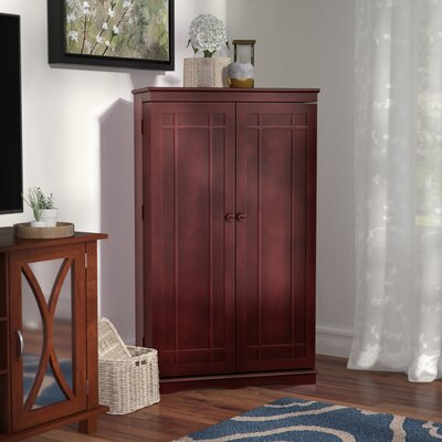 Multimedia Storage Cabinet Color: Cherry