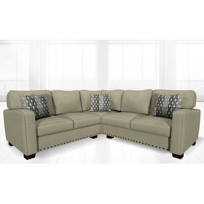 Costa Mesa Stationary Sectional Upholstery: Platinum
