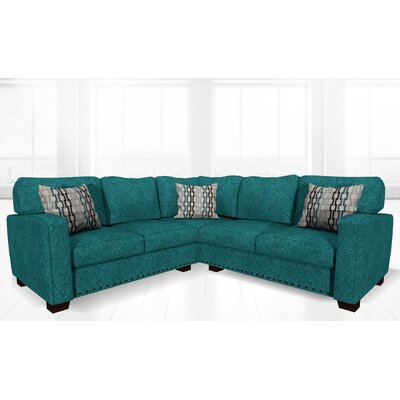 Costa Mesa Reclining Sectional Upholstery: Laguna