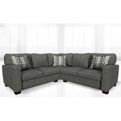 Costa Mesa Stationary Sectional Upholstery: Dolphin