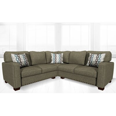 Costa Mesa Stationary Sectional Upholstery: Sand Granite