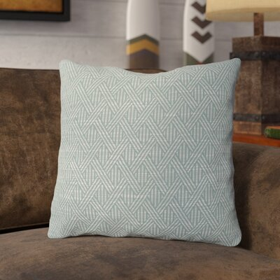 Shanon Throw Pillow Color: Serenity