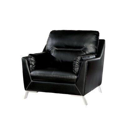 Juhasz Armchair Upholstery: Black