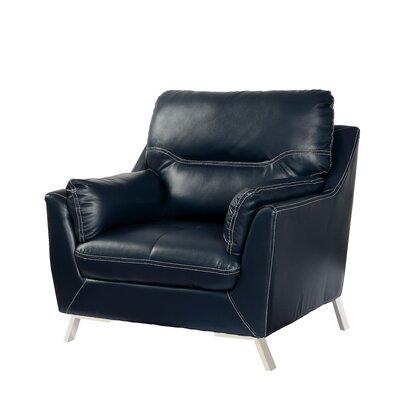 Juhasz Armchair Upholstery: Dark Blue