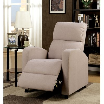 Chalfant Push Back Chair Manual No Motion Recliner
