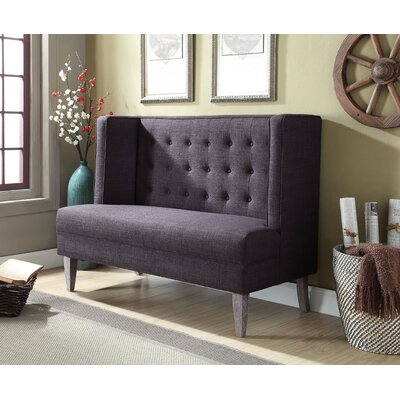 Martello Loveseat Upholstery: Gray