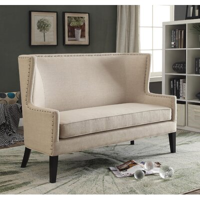 Diehl Loveseat Upholstery: Beige