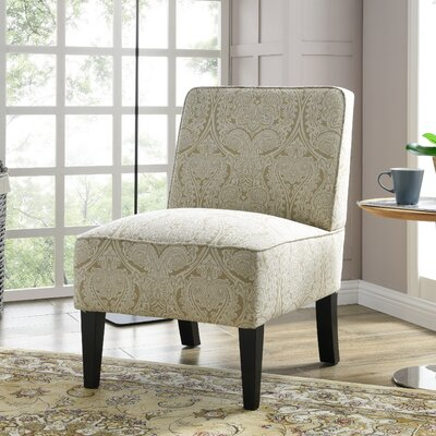 Burling Slipper Chair Upholstery: Paisley Putty
