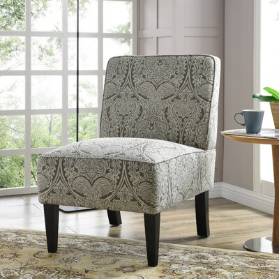 Burling Slipper Chair Upholstery: Paisley Gray