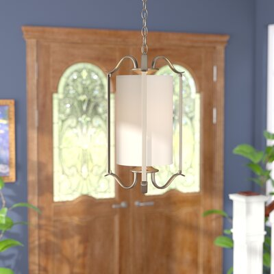 Greenwell 1-Light Foyer Pendant Finish: Antique Bronze