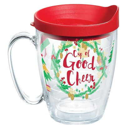 Cup Of Good Cheer 16 oz. Plastic Travel Tumbler 1270660