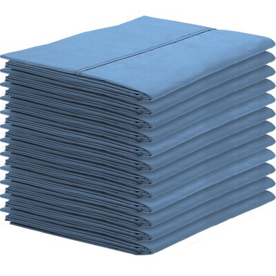 Gaiter Pillowcase Color: Coronet Blue, Size: Standard
