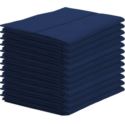 Gaiter Pillowcase Color: Dark Blue, Size: King